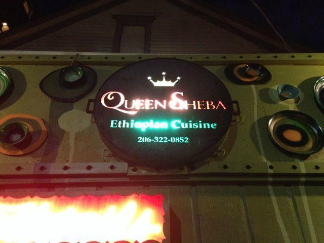 Queen Sheeba Etdiopian Restaurant