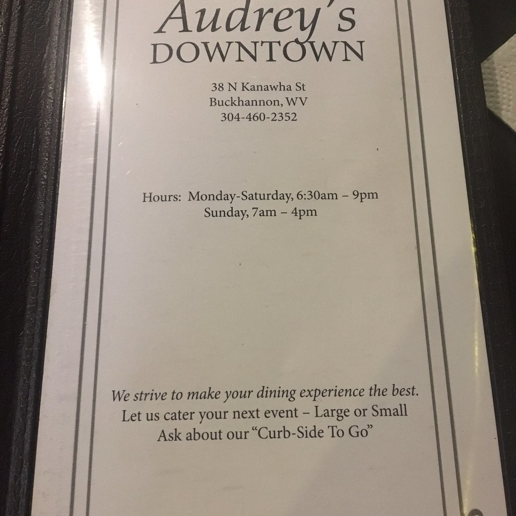 Audrey`s Downtown Restaurant